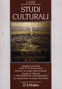 Studi culturali (2012). Vol. 1 - copertina