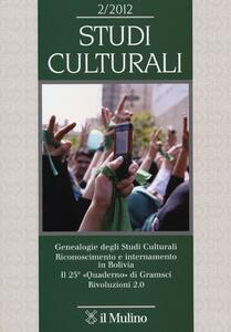 Studi culturali (2012). Vol. 2 - copertina