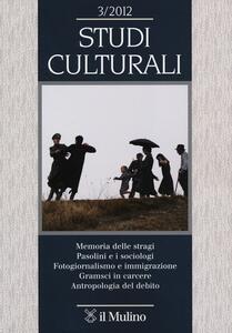 Studi culturali (2012). Vol. 3