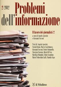 Problemi dell'informazione (2012). Vol. 2 - copertina