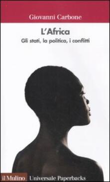 Warholgenova.it L' Africa. Gli stati, la politica, i conflitti Image