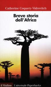 Breve storia dell'Africa - Catherine Coquery Vidrovitch - copertina