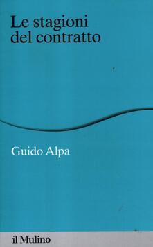 Le stagioni del contratto - Guido Alpa - copertina