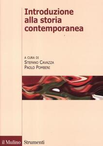 Introduzione alla storia contemporanea - copertina