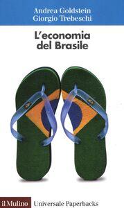 Foto Cover di L' economia del Brasile, Libro di Andrea Goldstein,Giorgio Trebeschi, edito da Il Mulino