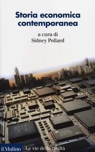 Storia economica contemporanea - copertina