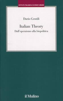 Daddyswing.es Italian Theory. Dall'operaismo alla biopolitica Image