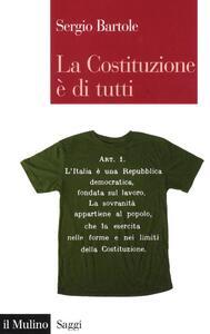 La Costituzione è di tutti - Sergio Bartole - copertina