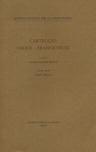 Carteggio Croce-Arangio-Ruiz