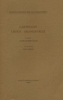 Listadelpopolo.it Carteggio Croce-Arangio-Ruiz Image