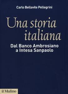 Una storia italiana. Dal Banco Ambrosiano a Intesa Sanpaolo. Con i diari di Carlo Azeglio Ciampi - Carlo Bellavite Pellegrini - copertina