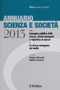 Annuario scienza e società (2013) - copertina