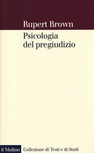 Libro Psicologia del pregiudizio Rupert Brown