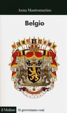 Belgio - Anna Mastromarino - copertina