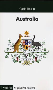 Australia - Carla Bassu - copertina
