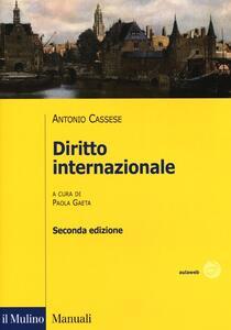 Diritto internazionale - Antonio Cassese - copertina