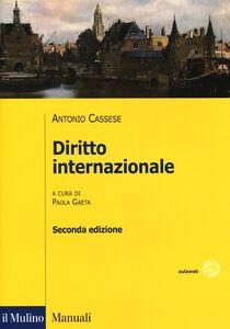 Foto Cover di Diritto internazionale, Libro di Antonio Cassese, edito da Il Mulino