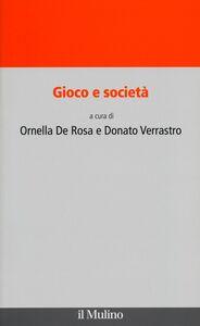 Libro Gioco e società