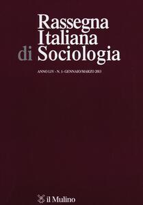 Rassegna italiana di sociologia (2013). Vol. 1