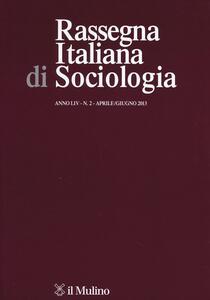 Rassegna italiana di sociologia (2013). Vol. 2 - copertina