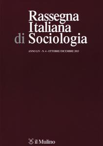 Rassegna italiana di sociologia (2013). Vol. 4 - copertina