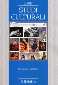Studi culturali (2013). Vol. 3 - copertina