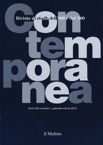 Contemporanea (2013). Vol. 1 - copertina