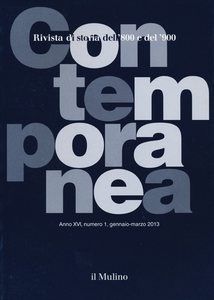 Libro Contemporanea (2013). Vol. 1
