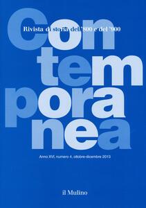 Contemporanea (2013). Vol. 4 - copertina