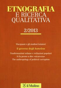 Etnografia e ricerca qualitativa (2013). Vol. 2 - copertina