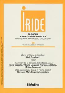 Iride (2013). Vol. 1 - copertina