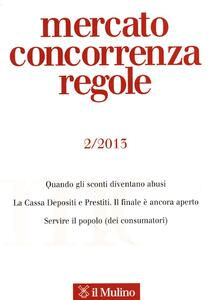 Mercato concorrenza regole (2013). Vol. 2 - copertina