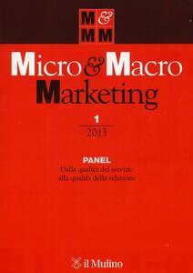 Micro & Macro Marketing (2013). Vol. 1 - copertina