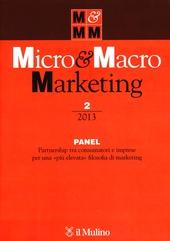 Micro & Macro Marketing (2013). Vol. 2