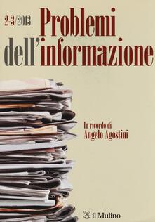 Capturtokyoedition.it Problemi dell'informazione (2013) vol. 2-3 Image