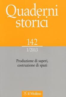 Capturtokyoedition.it Quaderni storici (2013). Vol. 1 Image