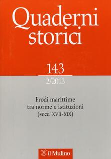 Warholgenova.it Quaderni storici (2013). Vol. 2 Image