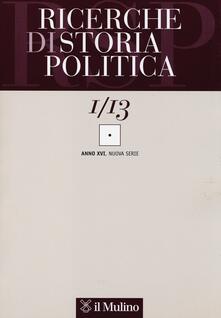 Winniearcher.com Ricerche di storia politica (2013). Vol. 1 Image
