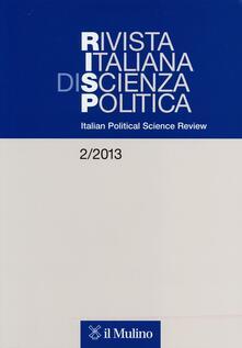 Nordestcaffeisola.it Rivista italiana di scienza politica (2013). Ediz. inglese. Vol. 2 Image