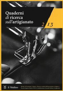 Promoartpalermo.it Quaderni di ricerca sull'artigianato (2013). Vol. 2 Image