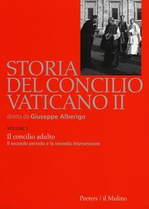 Storia del Concilio Vaticano II. Vol. 3: Il Concilo adulto. Il secondo periodo e la seconda intersessione (Settembre 1963-settembre 1964). - copertina