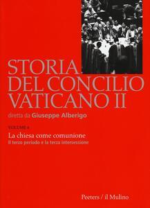 Storia del Concilio Vaticano II. Vol. 4: La Chiesa come comunione. Il terzo periodo e la terza intersessione (Settembre 1964-settembre 1965). - copertina