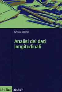 Libro Analisi dei dati longitudinali. Un'introduzione pratica Stefani Scherer