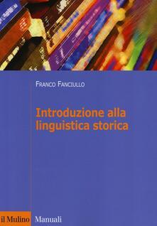Capturtokyoedition.it Introduzione alla linguistica storica Image
