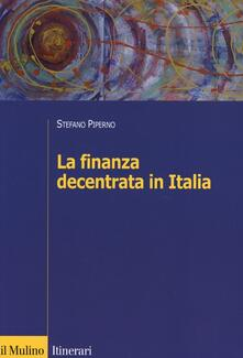 Equilibrifestival.it La finanza decentrata in Italia Image