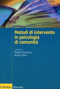 Metodi di intervento in psicologia di comunità - copertina