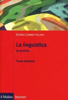 Criticalwinenotav.it La linguistica. In pratica Image