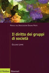 Libro Il diritto dei gruppi di società. Manuali dell'Associazione Disiano Preite Giuliano Lemme