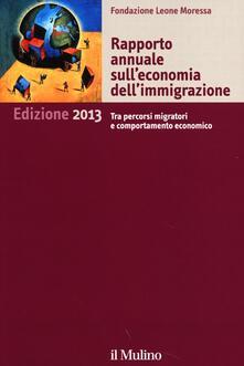 Rapporto annuale sull'economia dell'immigrazione 2013 - copertina
