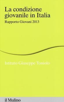 La condizione giovanile in Italia. Rapporto giovani 2013.pdf